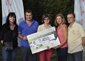 El Lyoness Open 2014 logra recaudar 7.450 euros para el