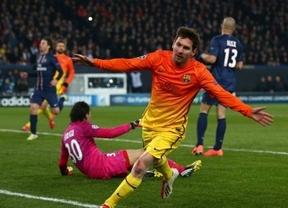 Ser o no ser... semifinalista para un Barça favorito, con o sin Messi, ante el PSG