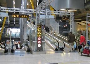 Los aeropuertos esperan 2,6 millones de pasajeros por el puente
