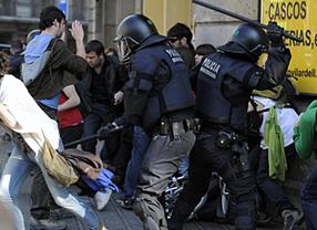 AUGC y SUP piden a la Policía 'prudencia y flexibilidad' con los piquetes informativos