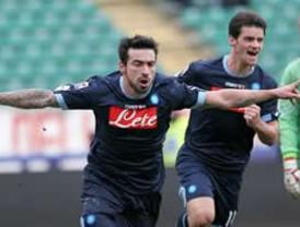 Nápoles sigue en su lucha por quitar del primer sitio al AC Milán