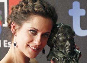 La novel María León también aspira al premio de sus compañeros de la Unión de Actores