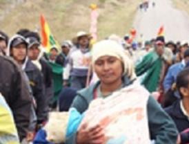 La marcha indígena en defensa del TIPNIS se reanuda
