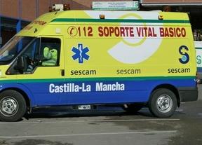 Calcinadas nueve ambulancias del SESCAM en Puertollano