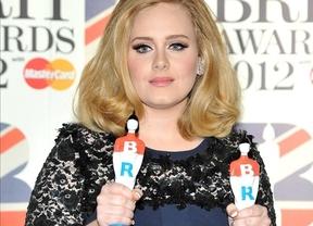 Adele, la más premiada también en los Brit