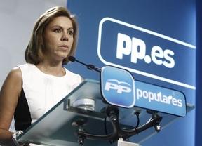 Cospedal no descarta un acuerdo con el PSOE sobre la elección directa de los alcaldes
