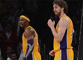 De nuevo un gran Gasol... pero ni así los Lakers evitaron una nueva derrota ante Chicago (95-83)