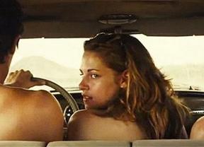 Filtran a Kristen Stewart desnuda en una polémica escena de sexo en su nueva película, 'On the road'