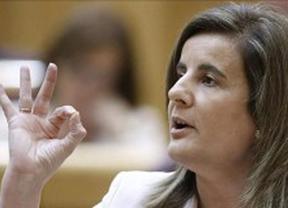 Báñez destaca que más de 2.500 españoles encontraron trabajo cada día en marzo