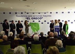 La princesa Letizia inaugura una residencia de mayores en un barrio de Toledo