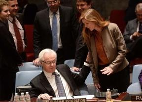 La embajadora de EEUU en la ONU habla con su homólogo ruso