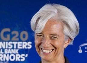 Lagarde (FMI) dice que el ajuste de España es bueno 'si lo aplica'