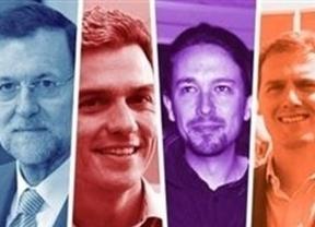 España sigue siendo azul, aunque desteñido, y el bipartidismo aguanta a duras penas ante la irrupción de Podemos y Ciudadanos