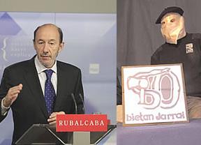 Rubalcaba y Blanco confirman que el Gobierno tendrá en cuenta la propuesta de acercar presos de ETA