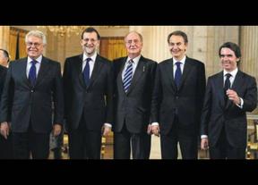 Los 4 presidentes (en activo) de la democracia, juntos