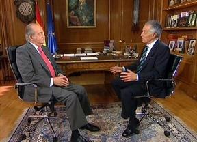 Así fue la entrevista de Hermida al Rey: hubo varias pausas para mejorar las respuestas