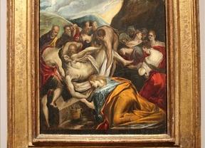 'El entierro de Cristo' de El Greco, subastado en Nueva York por 750.000 dólares