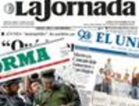 Resaltan El Universal y Reforma el operativo contra grupos policiacos de Oaxaca