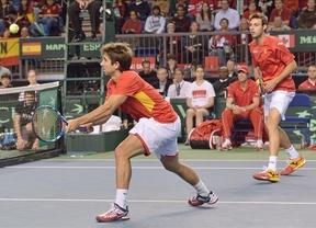 Granollers y López ganan el dobles y anotan el primer punto de España (2-1)