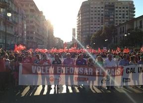 En las protestas de Valencia se anuncia una gran marcha en septiembre hacia Madrid