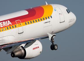 Iberia aumenta su demanda un 1,9% hasta octubre e impulsa una subida del 16% en el tráfico de IAG
