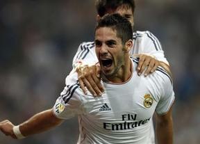 El Madrid sin Bale, lesionado en el calentamiento, y con un gran Isco cumple ante el Getafe (4-1)