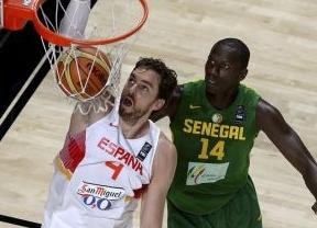 Senegal, nueva víctima de una 'SuperEspaña' que sigue de paliza en paliza y ya está en cuartos de final (89-56)