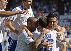 Dos errores del Sevilla en cinco minutos le dan la victoria al Zaragoza (2-1)