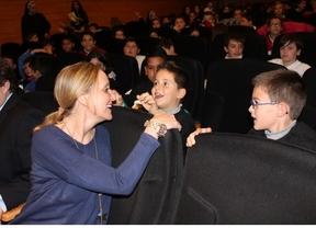 Carmen Casero confía en que diciembre