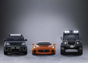 Tres modelos de Jaguar Land Rover aparecerán en la próxima entrega de James Bond, Spectre