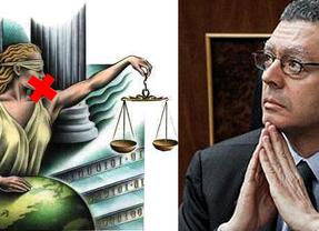 Gallardón quiere dejar muda a la Justicia además de ciega