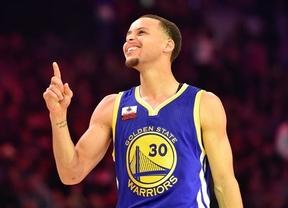 Stephen Curry se impone a Harden y LeBron como MVP de la temporada en la NBA