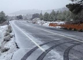 Cuenca y Guadalajara podrían llegar a los 20 centímetros de nieve