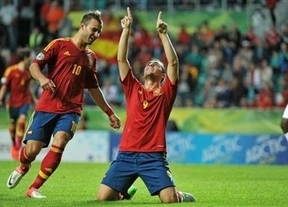Por penaltis y sufriendo: España, a la final del Europeo sub-19