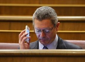 La amarga despedida de Gallardón en el Ayuntamiento de Madrid