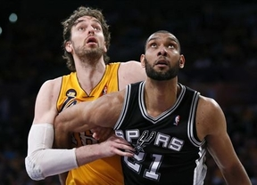 Los Spurs destrozan a los Lakers pese al 'triple doble' de Gasol (89-120)
