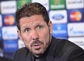 Simeone pagará con 8 partidos las collejas al cuarto árbitro durante la Supercopa
