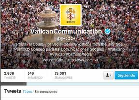El Twitter del Vaticano, con mucho humor para anunciar la fumata negra