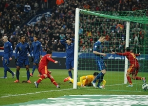 Francia, primera y dura prueba de fuego para una Roja desteñida que busca recuperar la victoria y el prestigio