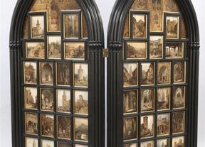 El Prado presenta un díptico realizado por el paisajista Genaro Pérez con vistas a Toledo