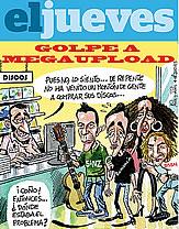 'El Jueves' se ríe de los músicos anti-piratería: ¿venden ahora más sin Megaupload?