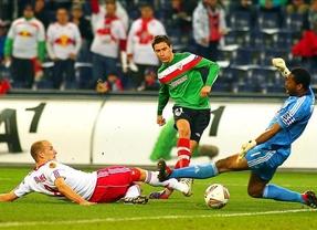 El gol de Herrera le asegura el 'paseíllo' a la clasificación al Athletic de Bilbao (0-1)