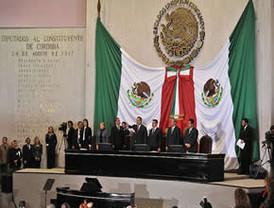 Duarte es ya gobernador de Veracruz; asisten al acto Peña Nieto, Moreira, Gordillo, Madrazo, José Murat