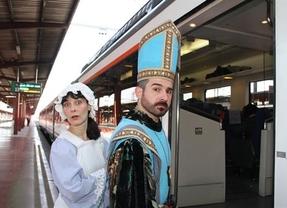 Vuelve el tren medieval a Sigüenza con la primavera