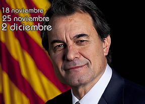 Artur Mas llega con su órdago electoral: las fechas que baraja son el 18-N, 25-N o 2-D