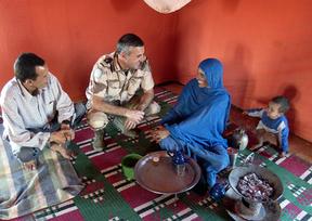 Los saharauis recogen firmas con la ONU para que Marruecos respete sus derechos humanos