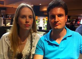 Mariana Pontes y Nicolai Hertz