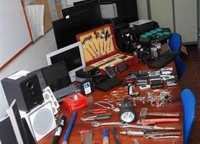 Desarticulado un grupo que robaba en domicilios y que operaba en Guadalajara
