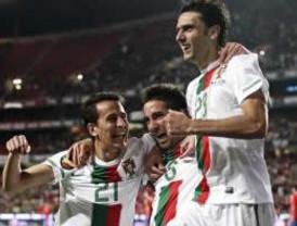 Portugal logró ganar por 4-0 al actual campeón del mundo en amistoso