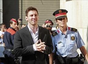 Messi se sentará en el banquillo... de los acusados